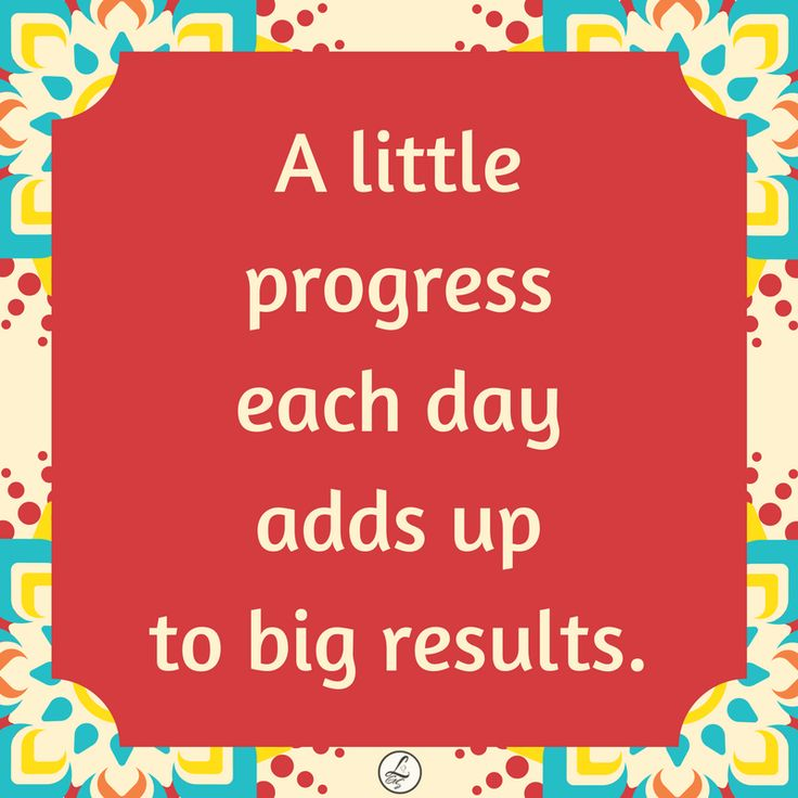 Beautiful message about making progress. Find more positive, motivational and inspirational quotes at #lorisgolfshoppe