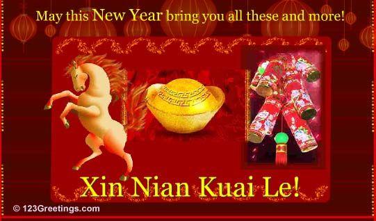 Xin Nian Kuai Le! #chinesenewyear #yearofhorse