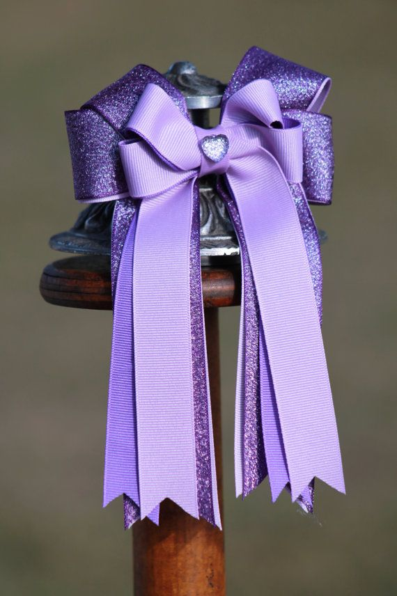Equestrian hair Bows by BowstotheShows on Etsy, $22.00