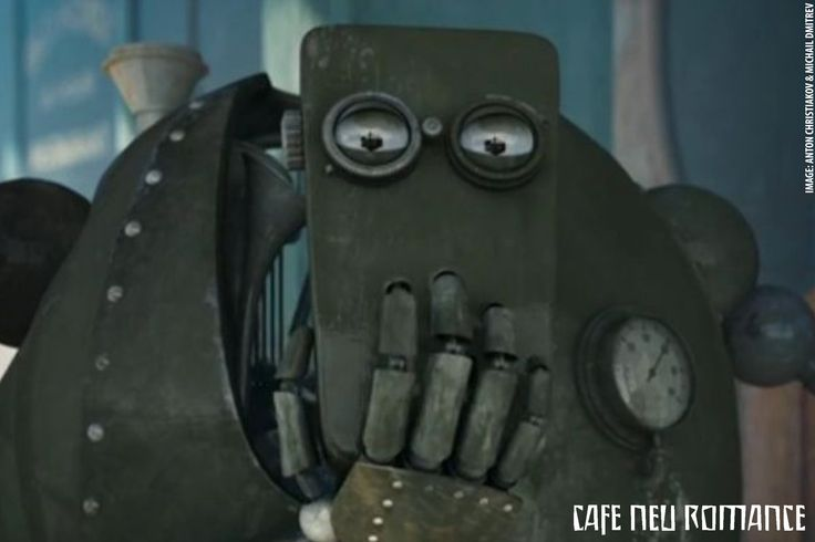 Bibo is a short robot movie directed by Anton Chisitiakov and Mikhail Dmitriev from Russia.  For more information on the Robot Performance Festival Cafe Neu Romance: http://cafe-neu-romance.com/