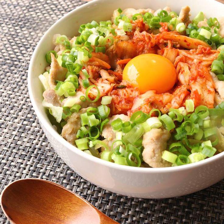 豚ロース肉でガツンと スタミナ男飯丼 | 料理動画(レシピ動画)のkurashiru [クラシル]