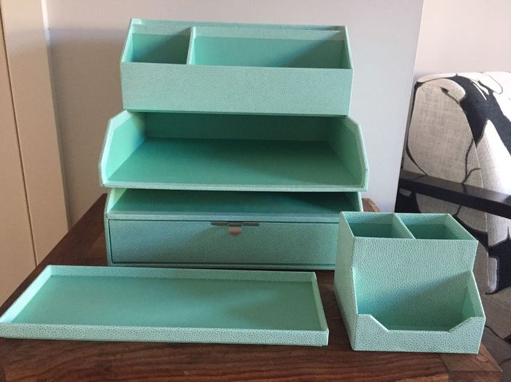 Martha Stewart Avery Home Office Collection in Teal.