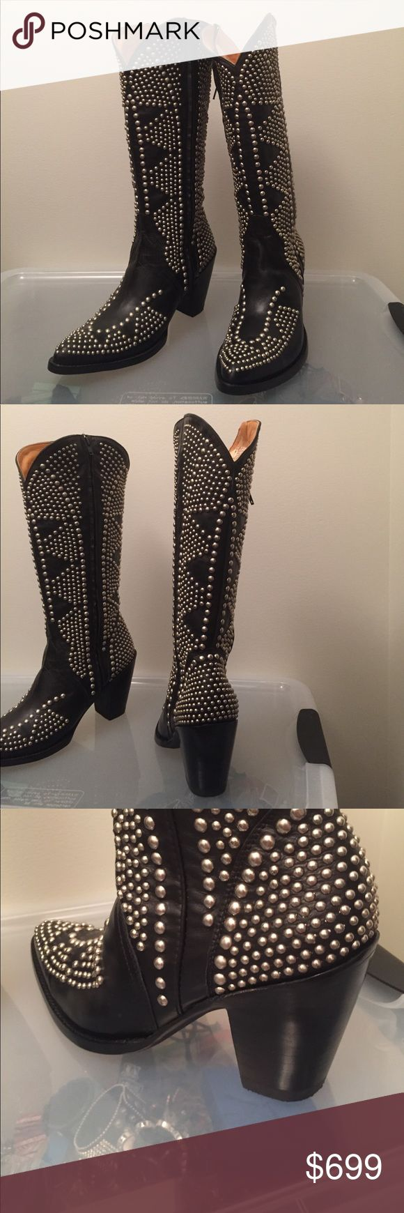 Old gringo fatale boots My feet are a bit too long and narrow for these 3.5 inch heels 😒 Old Gringo Shoes Heeled Boots