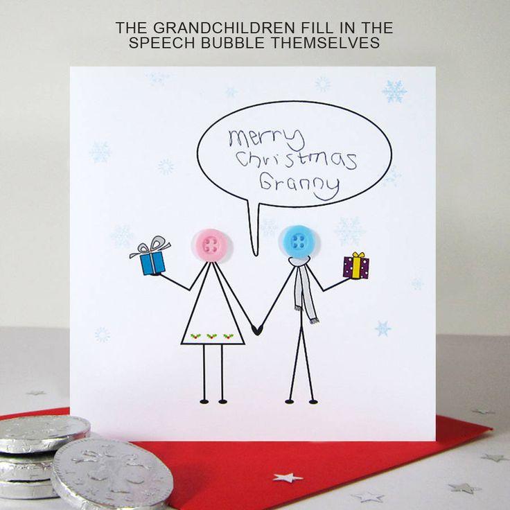 Christmas Card For Grandma