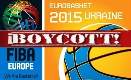 FIBA EUROPE Basketball: NO Eurobasket 2015 in Ukraine!