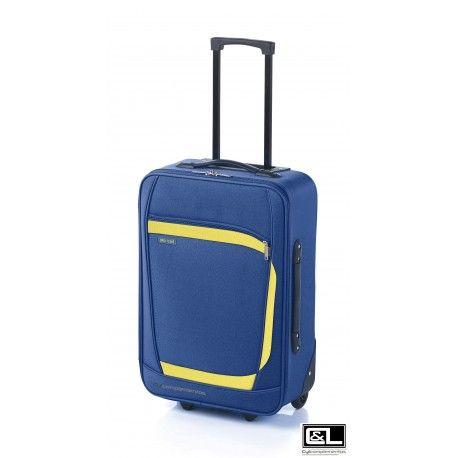 MALETA CABINA PLAY JT AZUL por solo 29,95 maleta 100% Low Cost ideal para Ryanair
