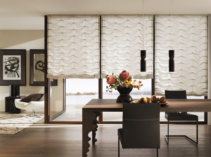 Die besten 25+ moderne Jalousien Ideen auf Pinterest moderne - moderne raffrollos wohnzimmer