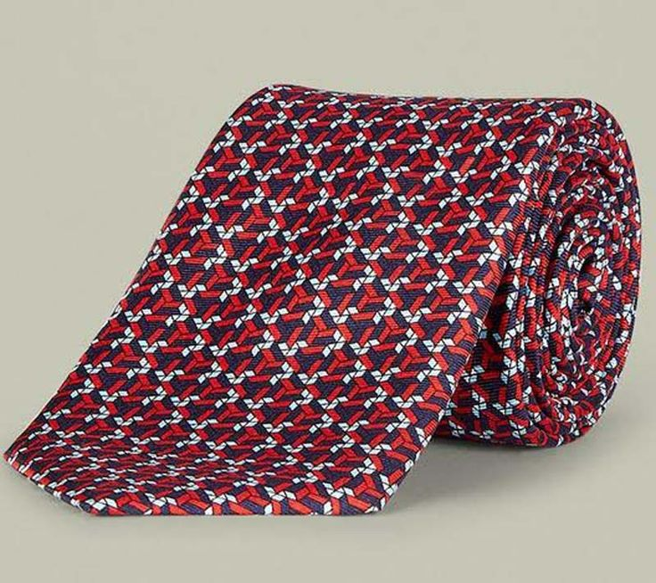 #THANKSDAD: OUR TOP 10 COOLIST FOR FATHER'S DAY - Anton Geometric Tie from Aquascutum