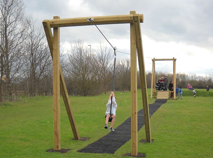 Aerial Cableway - Parts & Accessories from Online Playgrounds