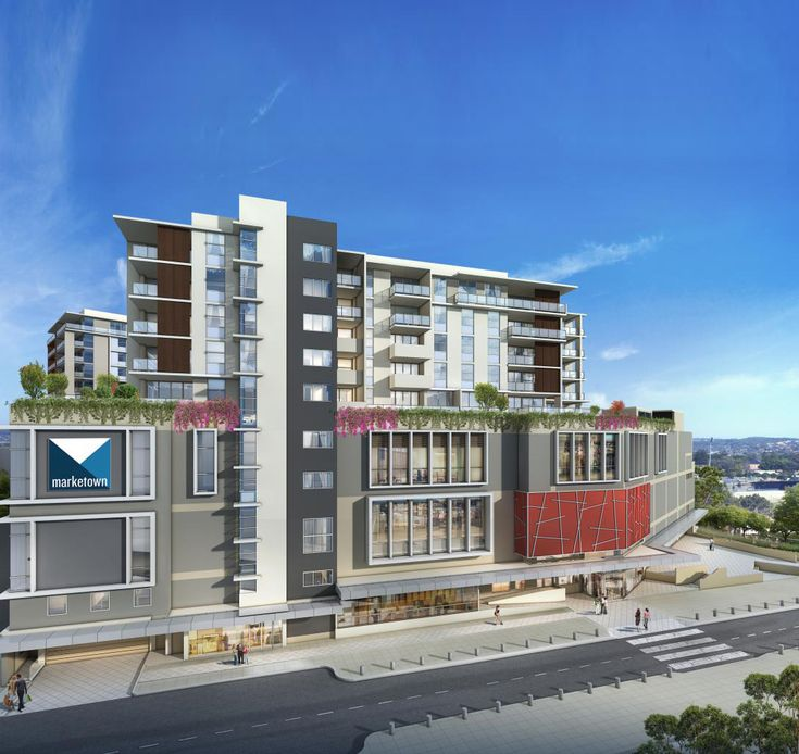 SPIRE   Apartments at Marketown