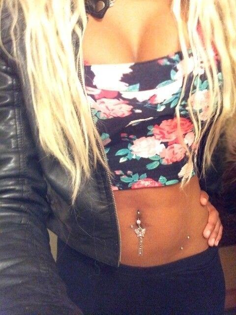 i like the piercings