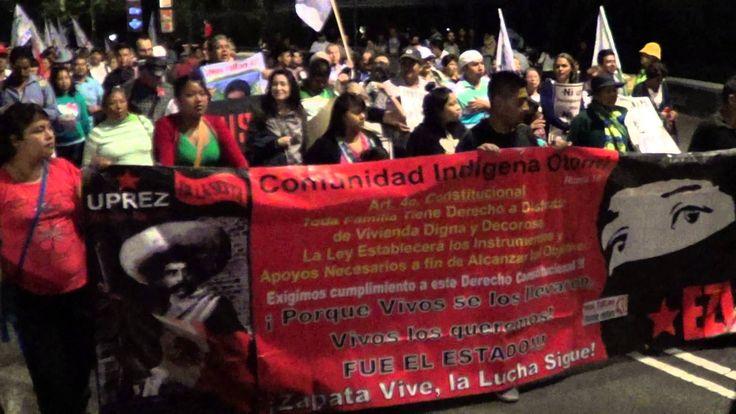 PADRES DE FAMILIA DE LOS 43 ESTUDIANTES DESAPARECIDOS REALIZAN PLANTÓN 26