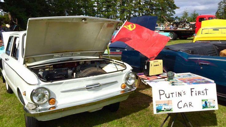 В Америке продают первый автомобиль Путина?