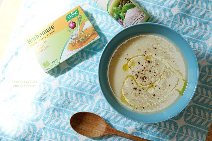 道のりを記憶に残して: 旅のお土産、お気に入りのハーブソルトと野菜ブイヨン&蕪と里芋のポタージュスープ