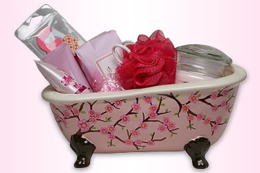 Small ceramic pink tub (found at Michaels Craft Store) or any reusable pink container.      BIC Mark-It Permanent Markers.      BIC® Mechanical Pencil      Pink Easter grass      Stencils, or draw design free-hand.      Pink spa gifts to fill the basket: soap, candles, lotions etc.      Clear gift basket wrap and a pink bow (optional)    Instructions        Using a BIC® Mechanical Pencil, draw a design onto the container using a stencil or draw the design free-hand.      Color in the design…