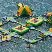 Enhance your fun with a water trampoline from Hamster Water ball. Get complete #inflatable, lake and water #trampoline packages.