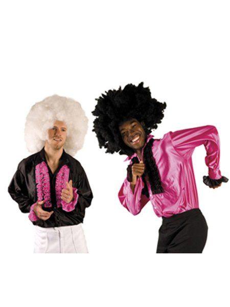 https://11ter11ter.de/36331933.html 70s Disco Boy Rüschenhemd #11ter11ter #karneval #fasching #kostüm #outfit #fashion #style #party #70s #70er #disco