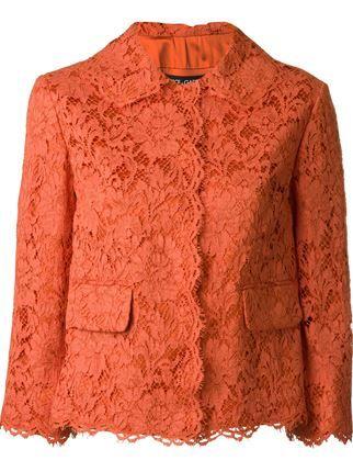 Dolce & Gabbana floral lace jacket