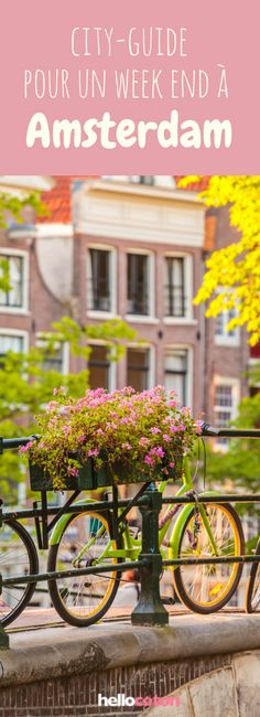 Que faire à Amsterdam ? 30 idées pour un week-end à Amsterdam ! #voyage #europe #weekend #roadtrip #amsterdam