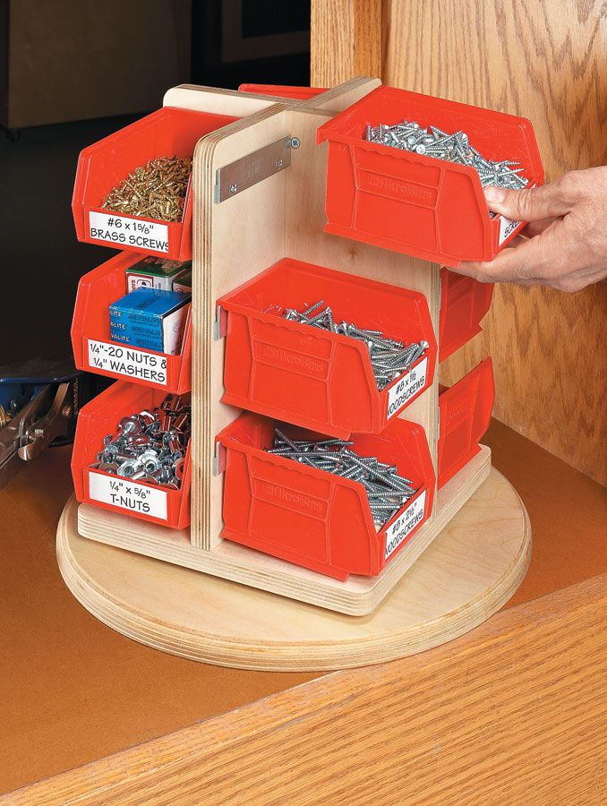 the lazy susan part for shelf – could work for som…
