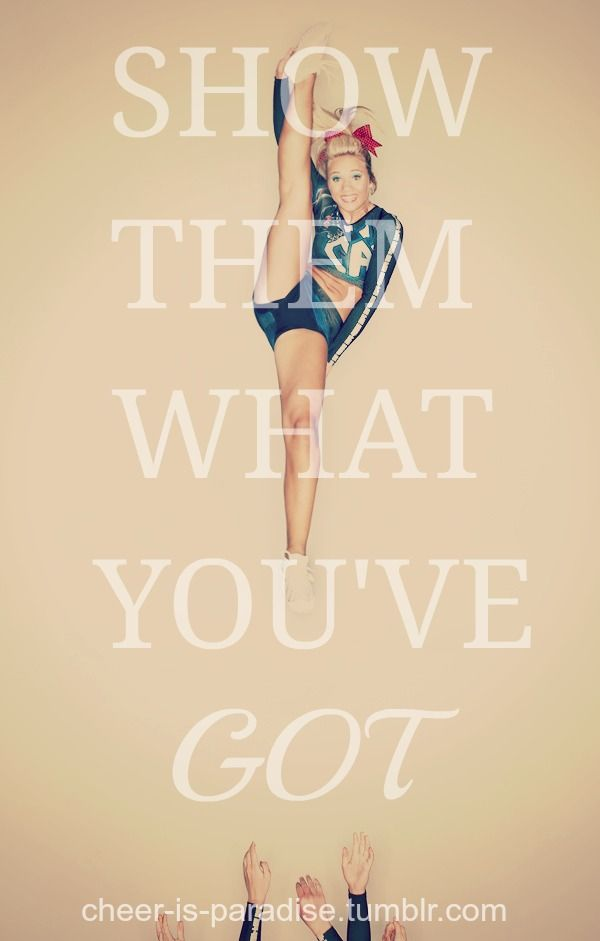 Cheerleader Quotes Never Give