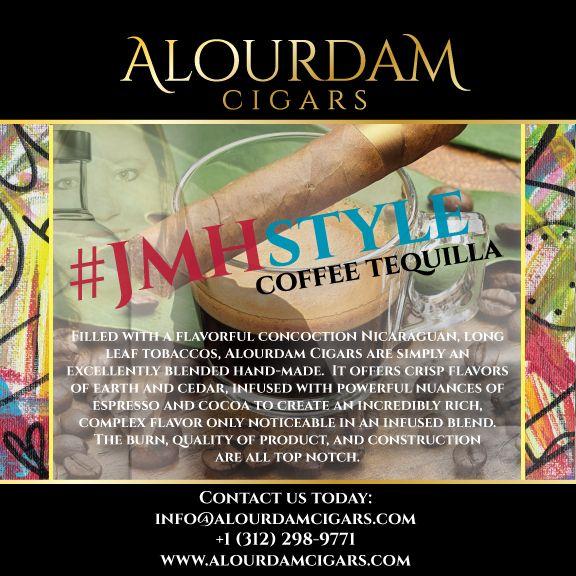 The {JMH} Coffee Tequila Cigar   Alourdam Cigars