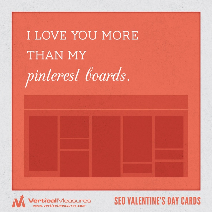Schön I Love You More Than Pinterest! #valentinesday