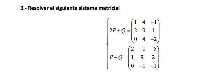 Ejercicio 3A Junio 2015-2016. Matemática, pau de Canarias, matemática 2, matrices y determinantes