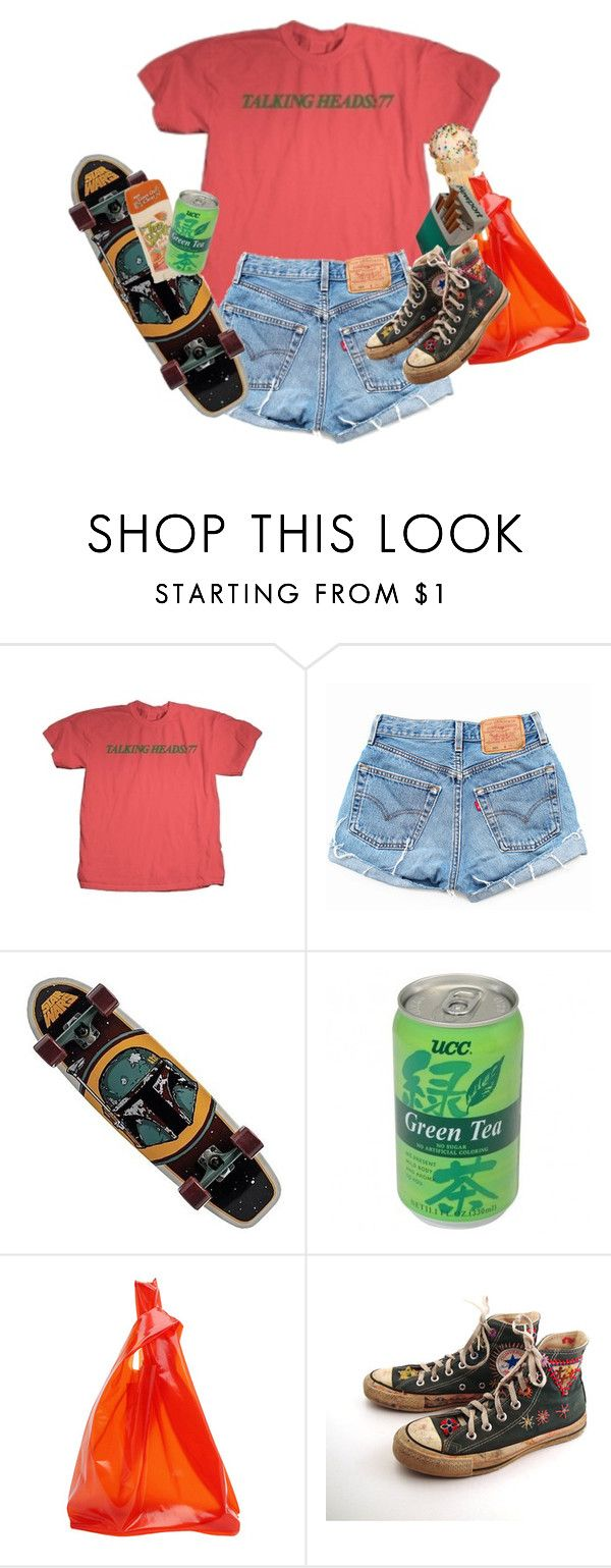 """""""clampdown"""" by kampow ❤ liked on Polyvore featuring Jil Sander, Converse, indie, Punk, grunge and aesthetic"""