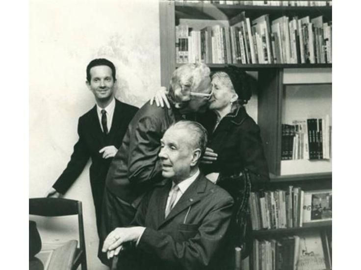 Jorge Luis Borges y Victoria Ocampo