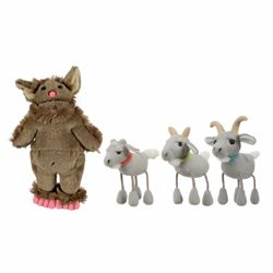 SenseToys: The Three Billy Goats Gruff Puppets set
