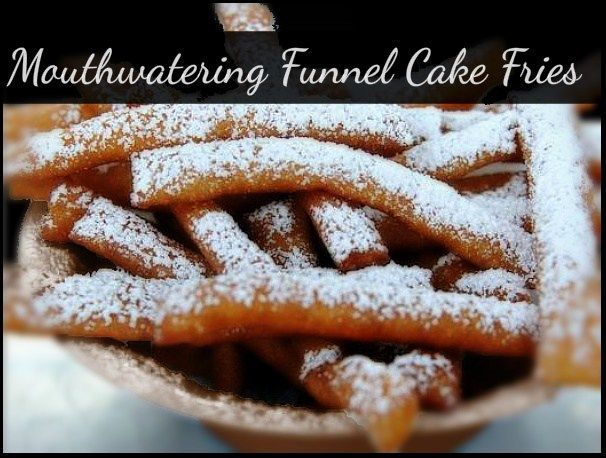 Mouthwatering Funnel Cake Fries