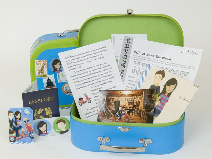 Little Passports monthly subscription kits for kids: Awesome gift that's as fun as educational.