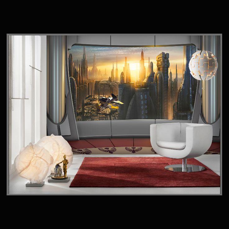 Star Wars - Coruscant view