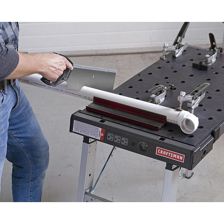 craftsman portable peg clamping workbench 2