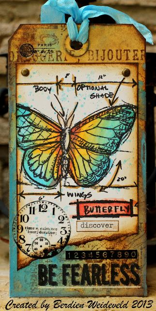 Scrap from Bemmel: 12 Tags of Tim Holtz : Juni 2013