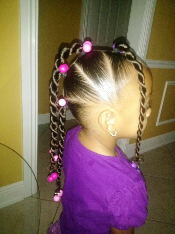 Remarkable 1000 Images About Black Little Girls Rock On Pinterest Cornrows Short Hairstyles For Black Women Fulllsitofus