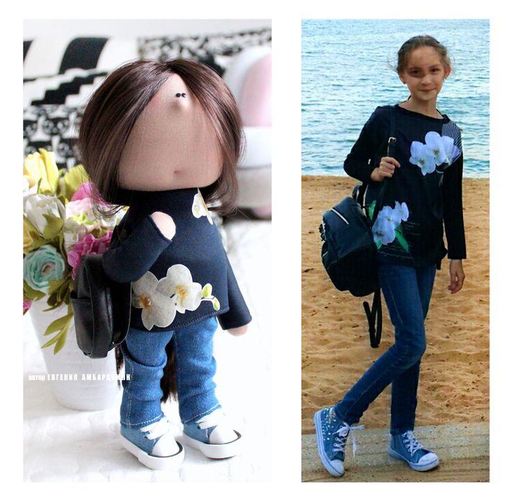 куколка для дочки подарок eva-dolls.com