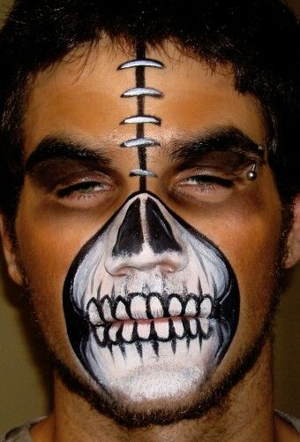 skeleton face paint halloween - Skeleton Face Paint For Halloween
