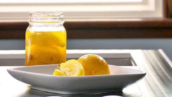 Citron confit maison