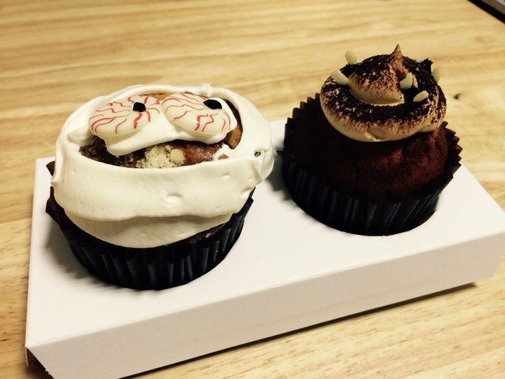 할로윈 컵케익