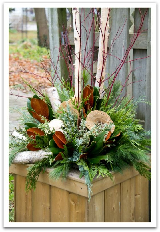 Woodland Inspired Outdoor Decor My Kind Of Holiday