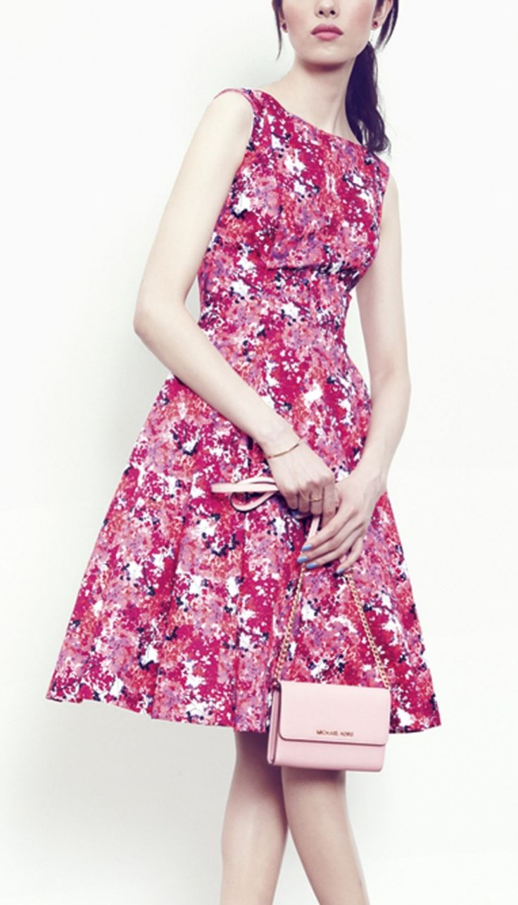 The cutest floral Maggy London dress for spring.