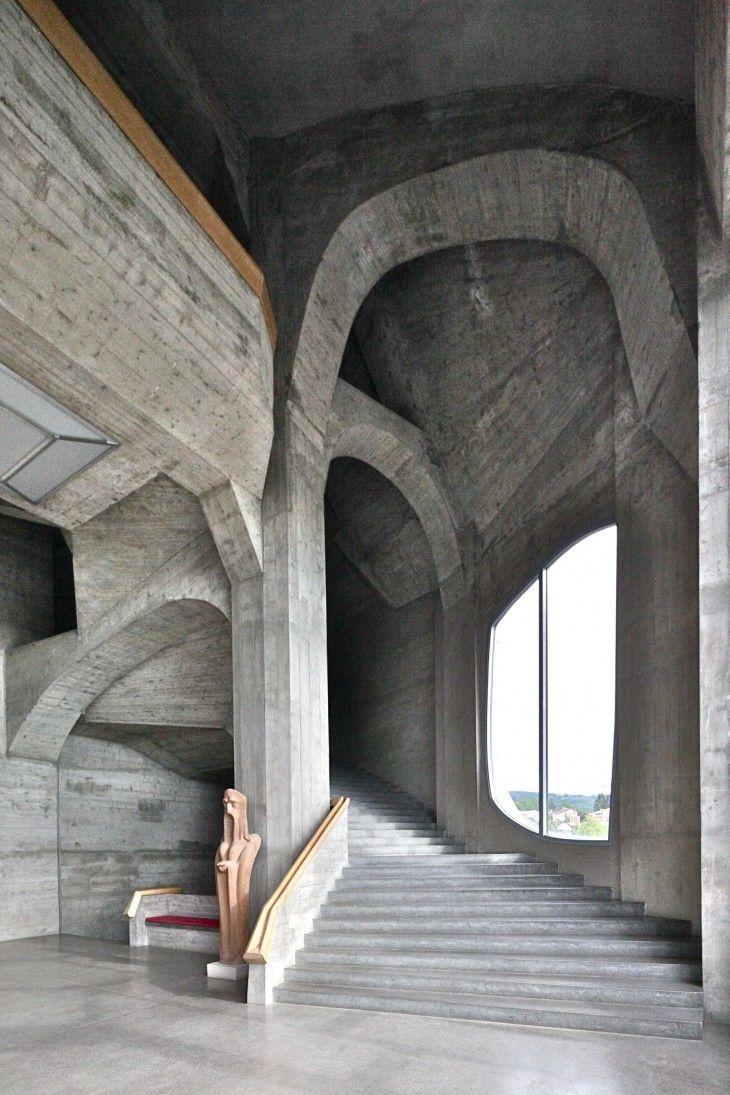 Goetheanum. Dornach, Switzerland by Rudolph Steiner #architecture