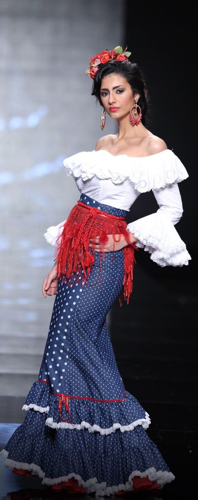 Traje de flamenca - Atelier Rima, Simof 2015