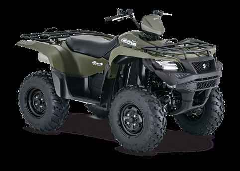 New 2016 Suzuki KingQuad 750AXi Power Steering ATVs For Sale in Wisconsin. Three decades of ATV manufacturing experience has led to the KingQuad 750 AXi Power Steering, Suzuki's most powerful and technologically advanced ATV. Abundant torque developed by the 722cc fuel-injected engine gives the KingQuad the get up and go that's a must-have for Utility Sport ATVs. The advanced Power Steering feature provides responsive handling, and the easiest maneuverability available. With an…