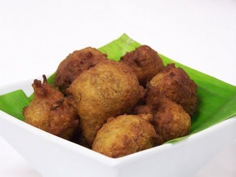 Mashed Banana Fritters Fast and Easy