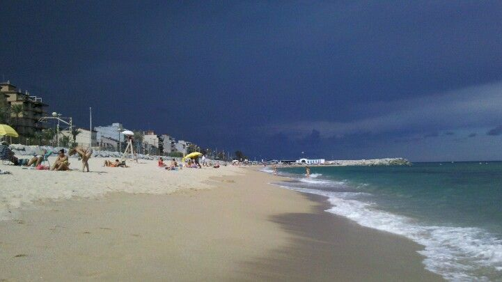 Platja de Vilassar de Mar #beach #Catalonia #Maresme