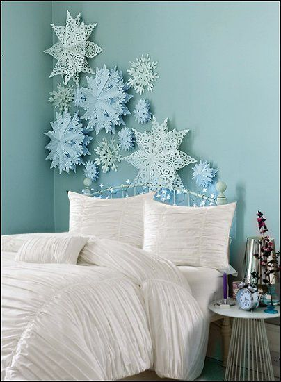 This must be Elsa's room! Inspired by #frozen (scheduled via http://www.tailwindapp.com?utm_source=pinterest&utm_medium=twpin&utm_content=post408269&utm_campaign=scheduler_attribution)
