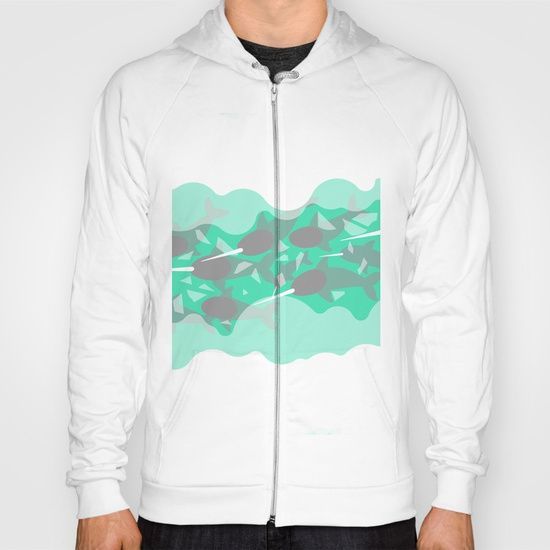 Narwhal - Winter Arctic Hoody